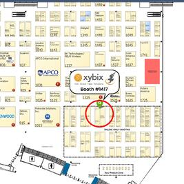 Xybix APCO Booth Location