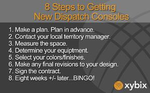 8 Steps to Getting New Dispatch Consoles