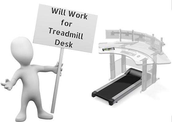 Will Work for Treadmill Desk